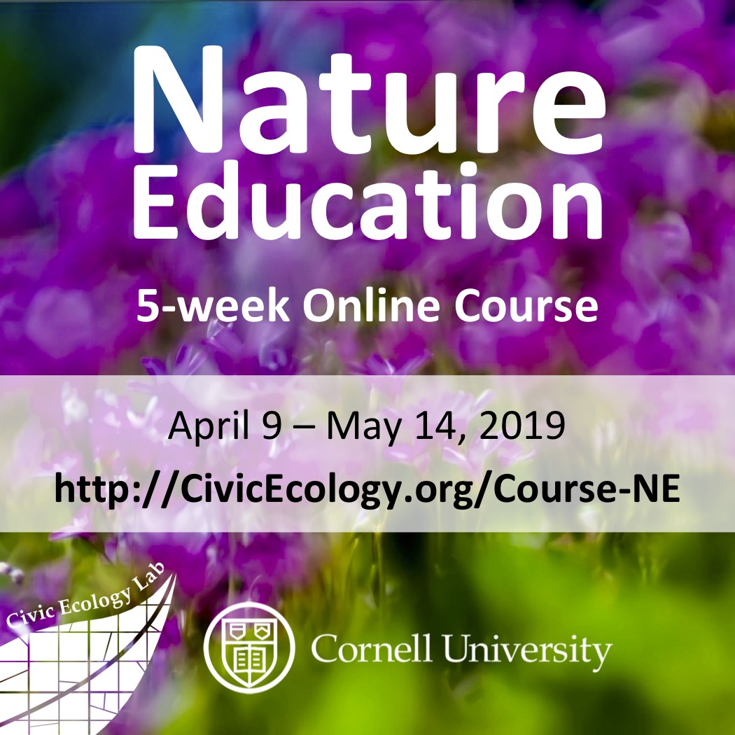 Nature Education Online Course from Cornell Civic Ecology